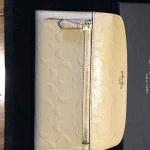Coach Bags - Coach Debossed Patent Leather Wallet